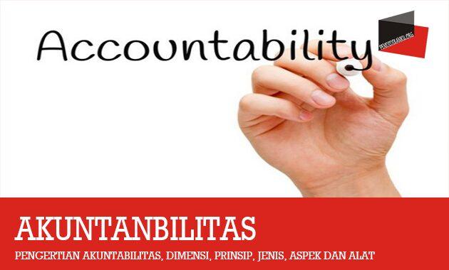 Pengertian Akuntabilitas