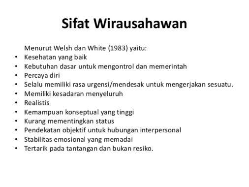 Sifat-wirausaha