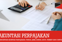Pengertian Akuntansi Perpajakan