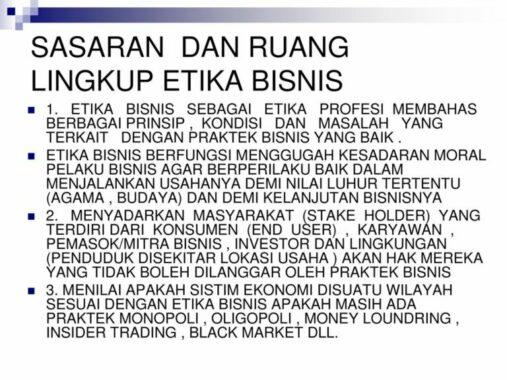 Sasaran-Lingkup-Etika-Bisnis