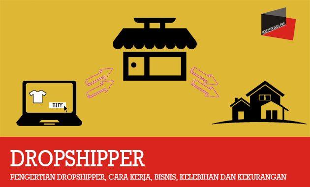 Pengertian Dropshipper