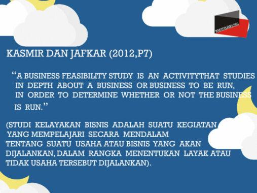 Kelayakan-Bisnis-Menurut-Kasmir-dan-Jafkar (2012,p7)