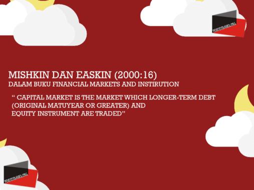 Mishkin dan Easkin (2000:16)
