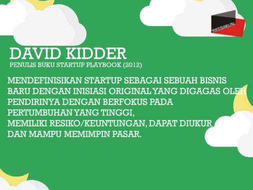 Startup-Menurut-David Kidder