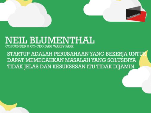Startup-Menurut-Neil-Blumenthal