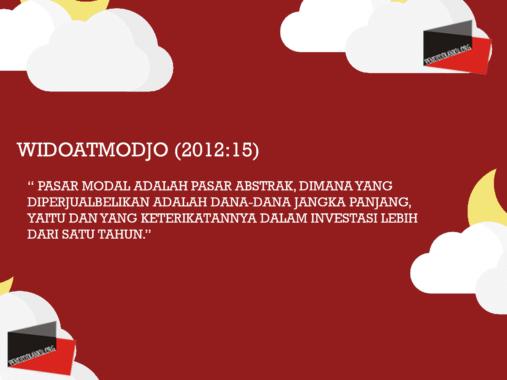 Widoatmodjo (2012:15)