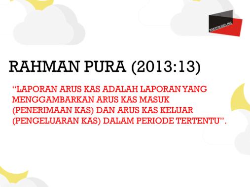 Rahman Pura (2013:13)