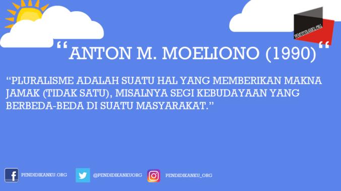 Anton M. Moeliono (1990)