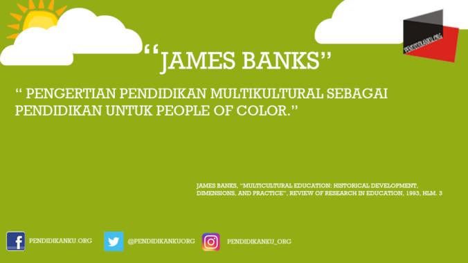 Multikultural menurut James Banks