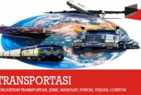 Pengertian Transportasi