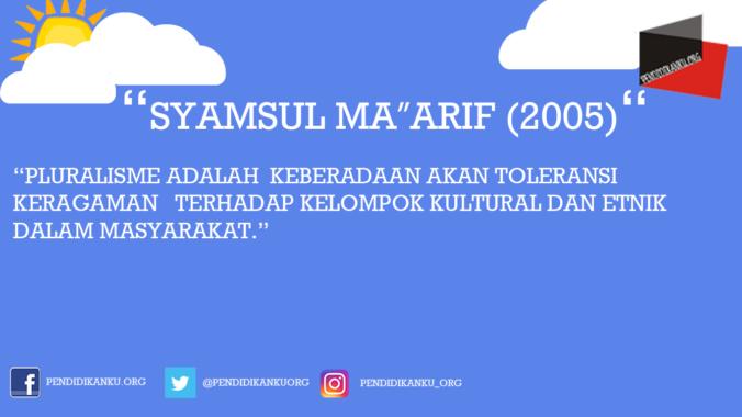 "Syamsul Ma""arif (2005)"
