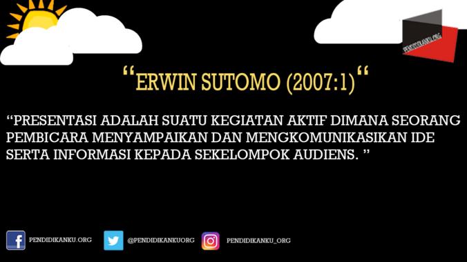 Erwin Sutomo (2007:1)
