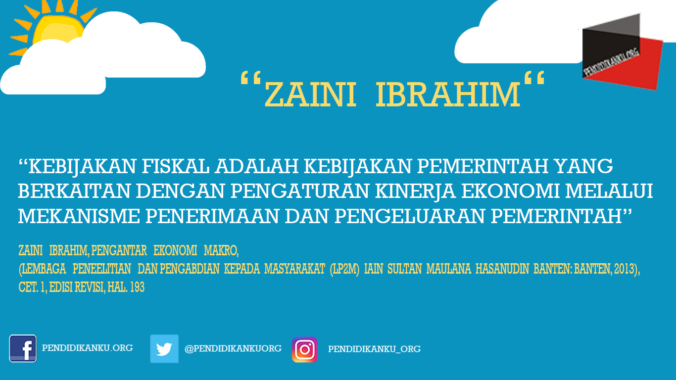 Menurut Zaini Ibrahim