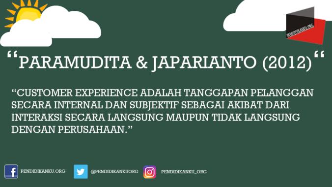 Menurut Paramudita dan Japarianto (2012)