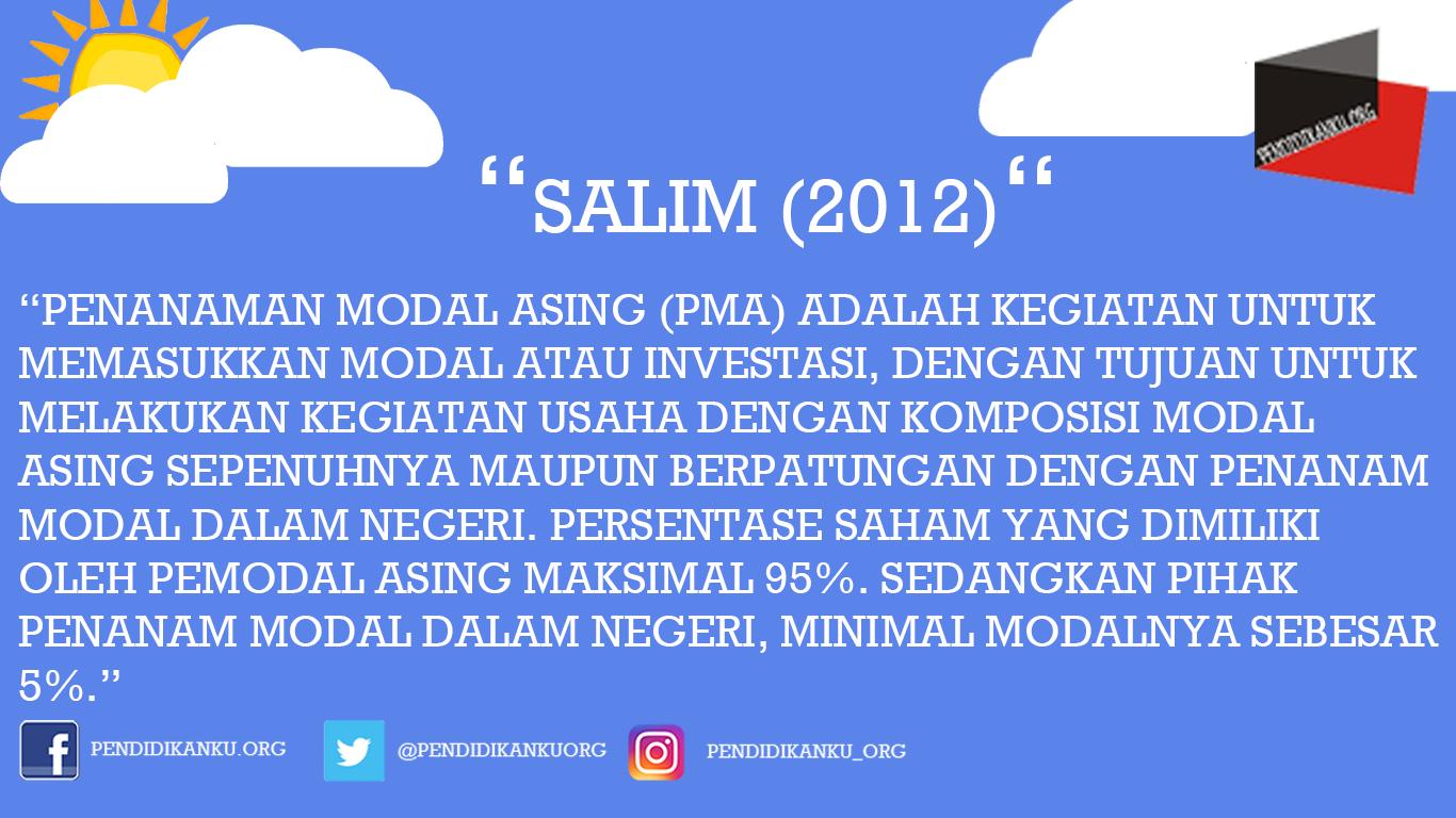 Menurut Salim (2012)