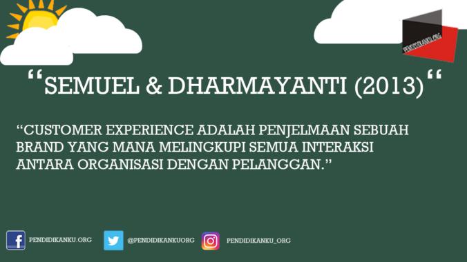 Menurut Semuel dan Dharmayanti (2013)
