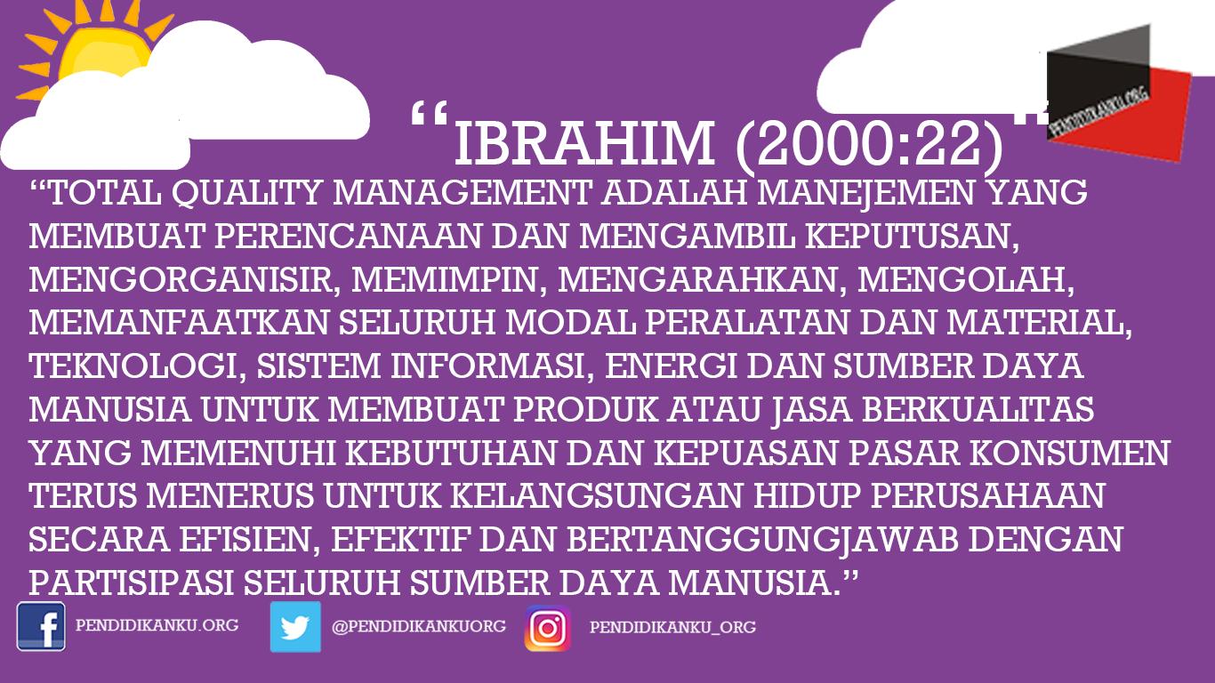 Menurut Ibrahim (2000:22)