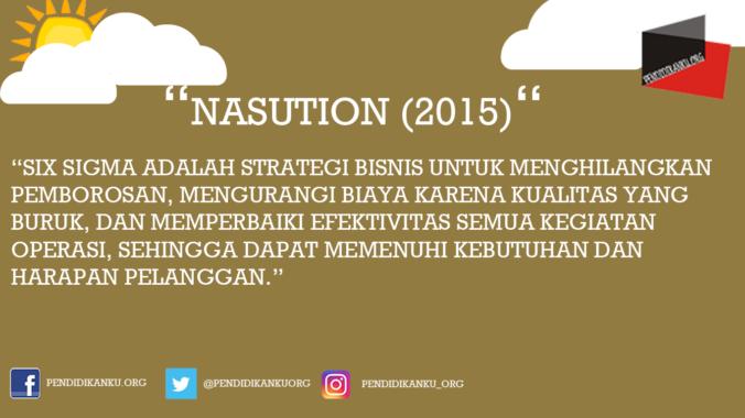 Menurut Nasution (2015)