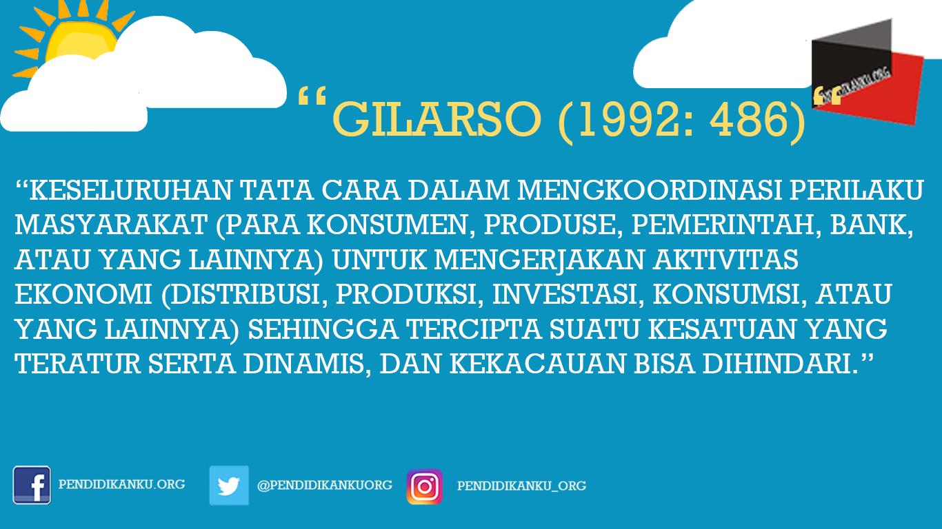 Gilarso (1992: 486)